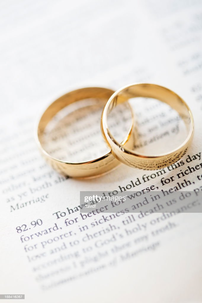 Wedding Vows And Rings