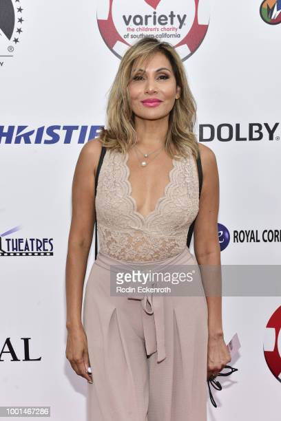 Wedil David attends the 8th Annual Variety Children's Charity of SoCal Texas Hold 'Em Poker Tournament at Paramount Studios on July 18 2018 in Los...