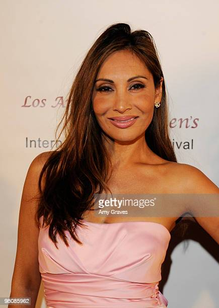 Wedil David attends the Los Angeles Women's International Film Festival Opening Night Gala at Libertine on March 26 2010 in Los Angeles California