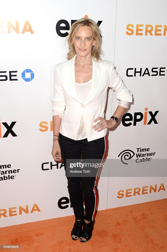 Wednesday Martin attends the premiere of EPIX original documentary 'Serena' at SVA Theater on June 13, 2016 in New York City.
