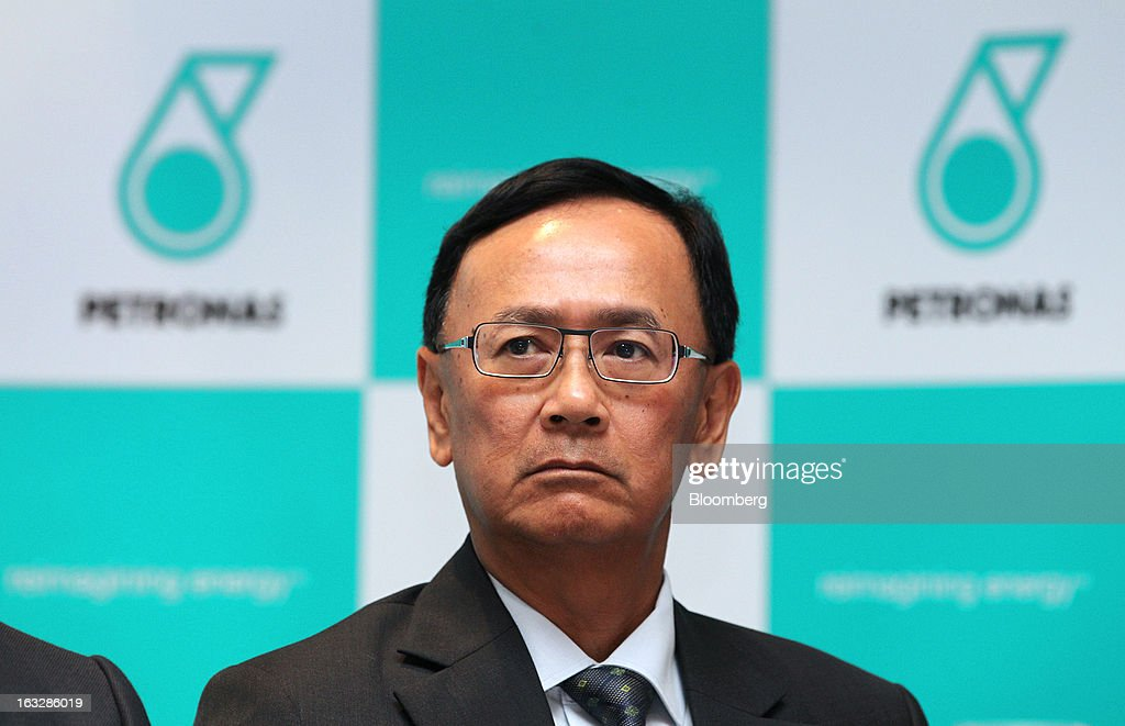 Wee Yiaw Hin, executive vice president of exploration and production at Petroliam Nasional Bhd. (Petronas), attends a news conference in Kuala Lumpur, Malaysia, on Thursday, March 7, 2013. Petronas, Malaysia's state energy company, defended its 8.8 billion ringgit ($2.8 billion) buyout offer price for MISC Bhd. after criticism from minority shareholders that it's too low. Photographer: Goh Seng Chong/Bloomberg via Getty Images