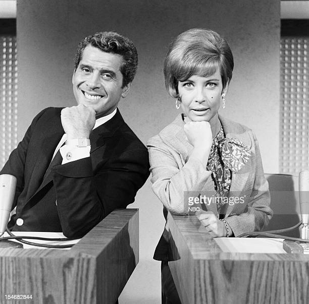 LETTER Week of August 15 1966 Pictured Celebrity contestants Hal March Gloria DeHaven