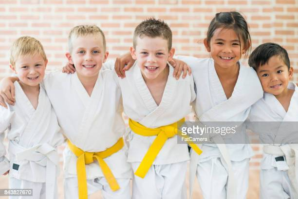 weekend activity - martial arts stock pictures, royalty-free photos & images