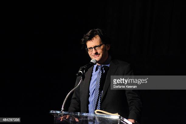 Weekend daytime host of Turner Classic Movies Ben Mankiewicz onstage at 'The Italian Job' Screening during the 2014 TCM Classic Film Festival at The...