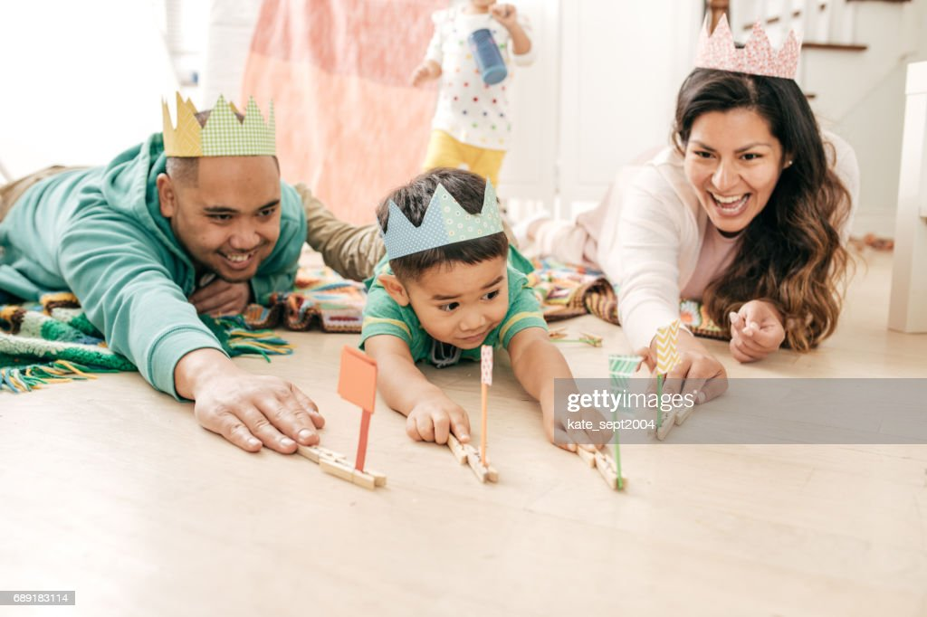 Weekend family activities : Stock Photo