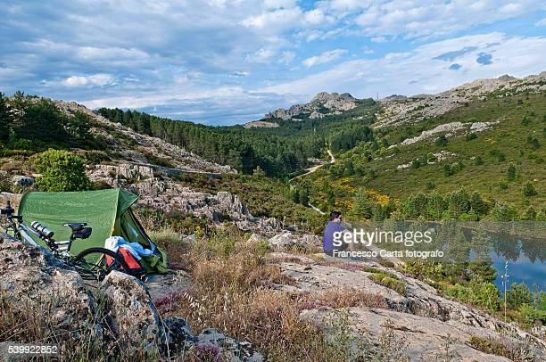 weekend in the mountains - tempio pausania stock pictures, royalty-free photos & images
