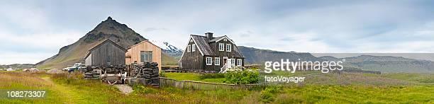 Weekend retreat wild landscape Iceland panorama