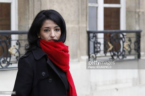 Weekly Council at Elysee Palace In Paris France On November 17 2010French Education Minister Luc Chatel French junior Minister for Education...