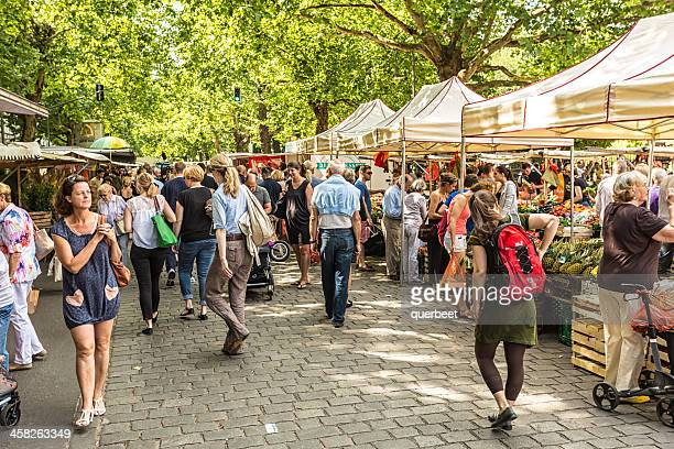 Weekly market / Kollwitzmarkt