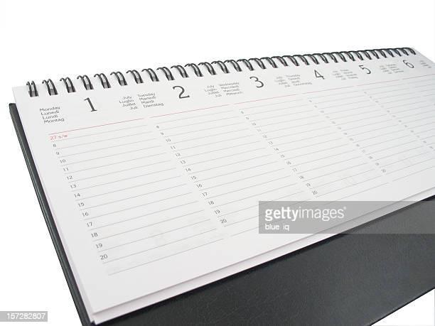 Wöchentliche planner-isoliert