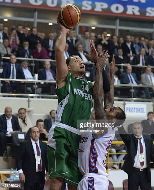 Weems Kyle of Nanterre in action during the FIBA EuroChallenge Final Four basketball match between Trabzonspor Medical Park and Nanterre at the Hayri...