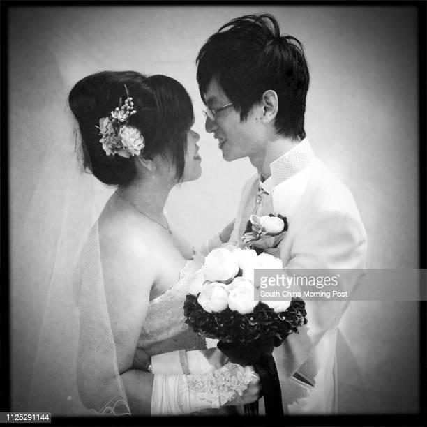Weeny Lee Waingai and husband Lai Tingyu Valentine's Backpage 15 February 2012