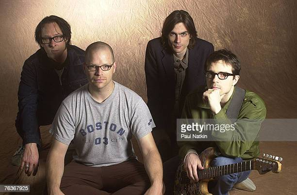 Weezer on 9/21/01 in Chicago Il