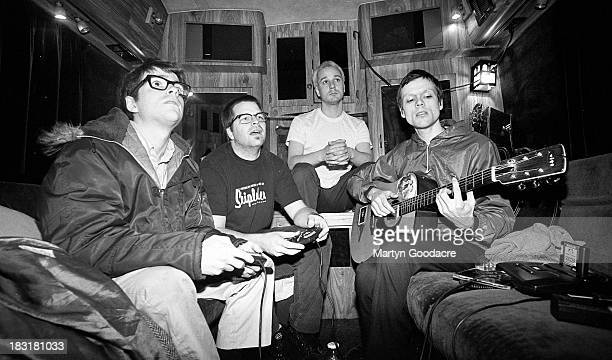Weezer perform on stage United States 1996