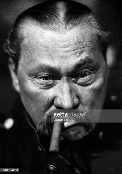 Wegener Paul Actor Germany*11121874in Strindberg's 'The Dance of Death' at the Theater am Kurfuerstendamm in Berlin Photographer Ullmann 1937Vintage...