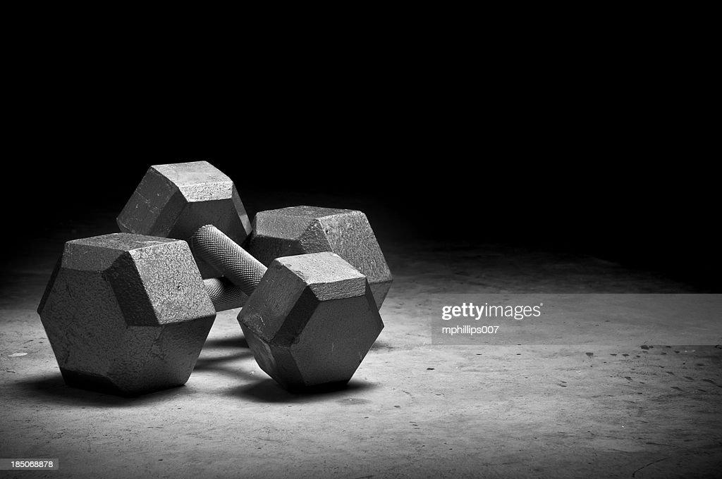Weight lifting : Stock Photo