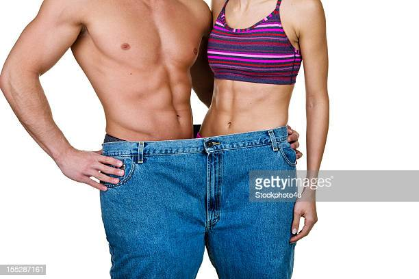 Weight loss and fitness concept