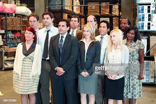 THE OFFICE Weight Loss Episode 1 Pictured Kate Flannery as Meredith Palmer John Krasinski as Jim Halpert Steve Carell as Michael Scott Amy Ryan as...