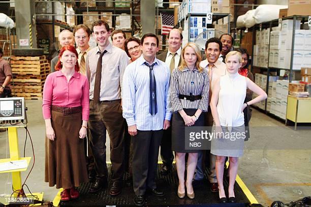 THE OFFICE Weight Loss Episode 1 Pictured Kate Flannery as Meredith Palmer John Krasinski as Jim Halpert Steve Carell as Michael Scott Amy Ryan as...
