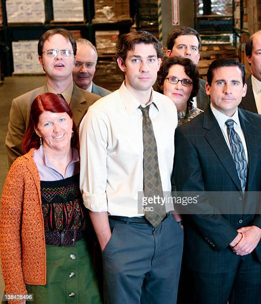 THE OFFICE Weight Loss Episode 1 Pictured Kate Flannery as Meredith Palmer Rainn Wilson as Dwight Schrute Creed Bratton as Creed Bratton John...