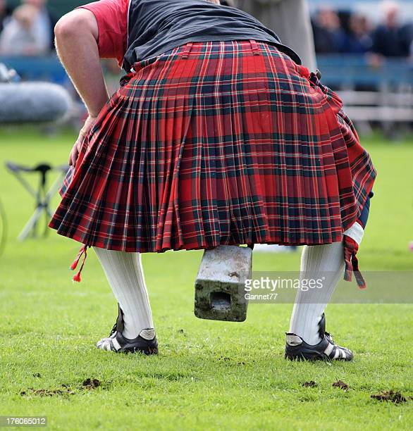 weight over the bar - highland games - highland games stock pictures, royalty-free photos & images