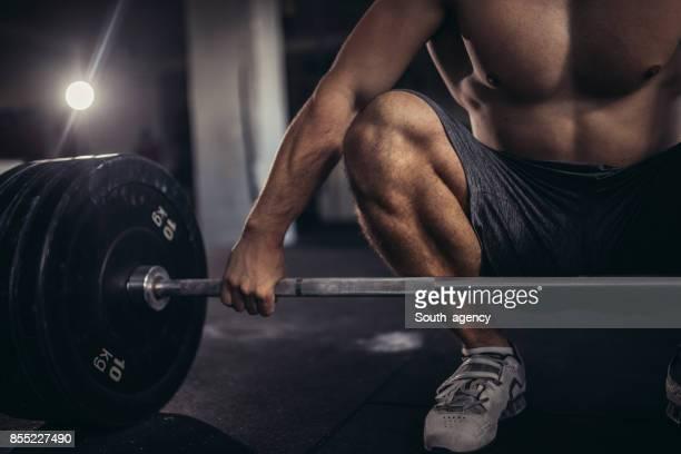 Weightlifter day routine