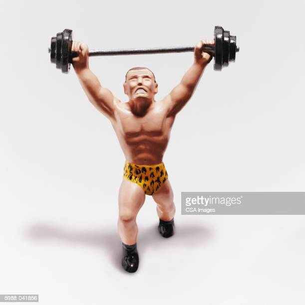 Weightlifter Figurine
