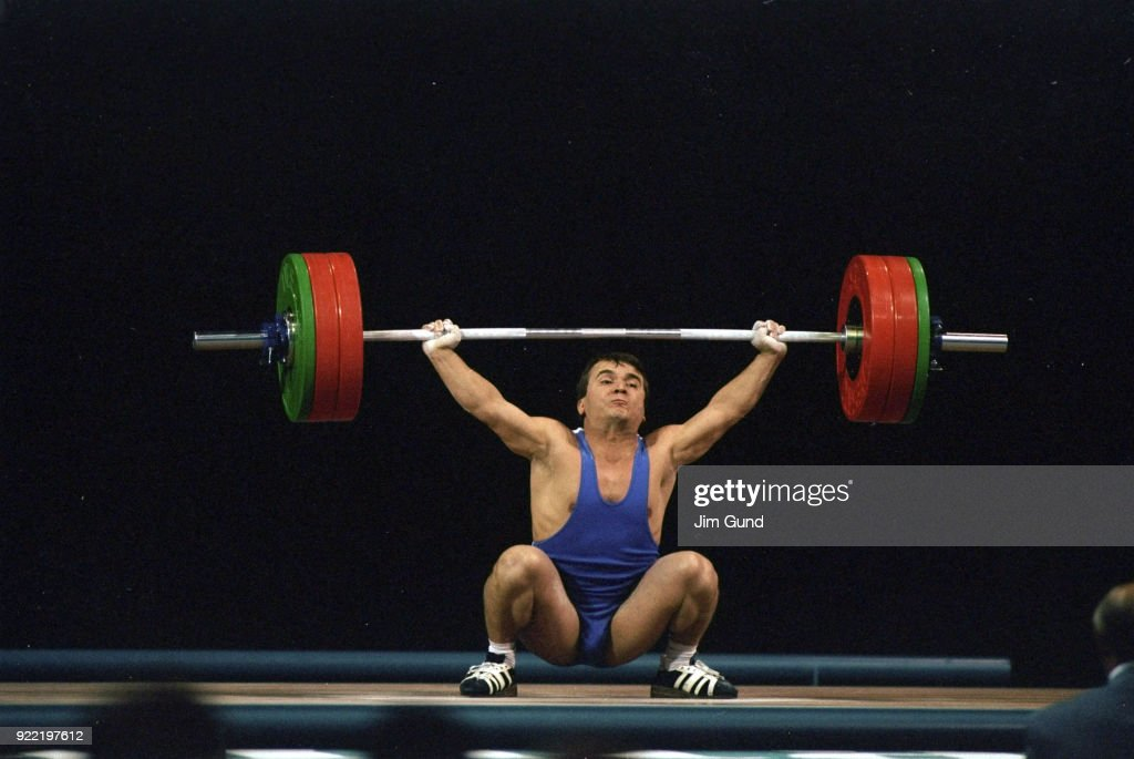 Weightlifting, 1996 Summer Olympics : News Photo