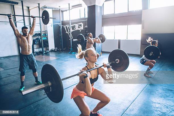 Weightlifting class