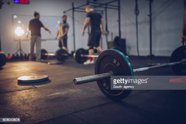 weights - crossfit stock pictures, royalty-free photos & images