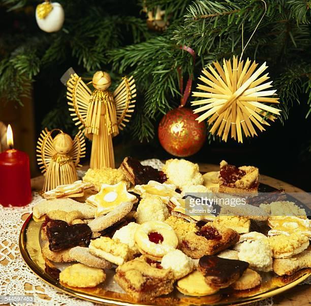 Weihnachtskekse Preise 2019.Weihnachten Weihnachtskekse Und Weihnachtsdekoration Aus Stroh