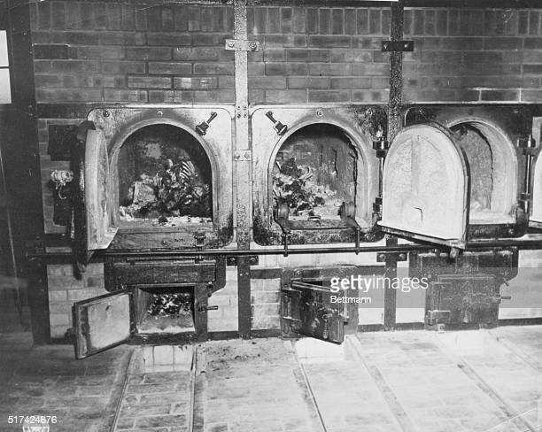 Scene Of Systematic Murder The bones of murdered antiNazi German women still lie in the ovens at the German Concentration Camp at Weimar This is...
