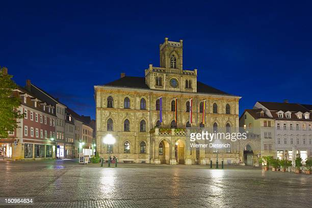 Weimar town hall, Weimar, Thuringia, Germany