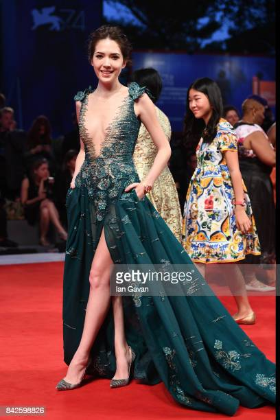 WeiNing Hsu walks the red carpet wearing a JaegerLeCoultre watch ahead of the 'Three Billboards Outside Ebbing Missouri' screening during the 74th...