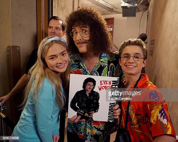 THE GOLDBERGS 'Weird Al' Visiting her grandmother from out of town Dana is not enthusiastic about going to a Weird Al concert so Adam comes to accept...