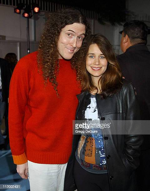 'Weird Al' Yankovic and wife Suzanne during 'South Park's' 5th Anniversary Party at Quixote Studios in Hollywood California United States