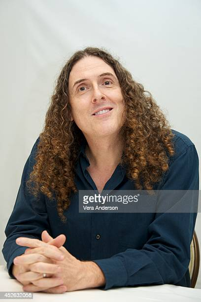 Weird Al Yankovic at the Four Seasons Hotel on July 23 2014 in Beverly Hills California