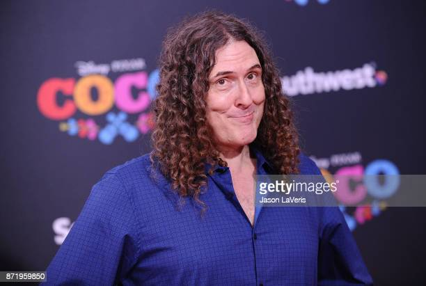 Weird Al Yankovic attends the premiere of 'Coco' at El Capitan Theatre on November 8 2017 in Los Angeles California