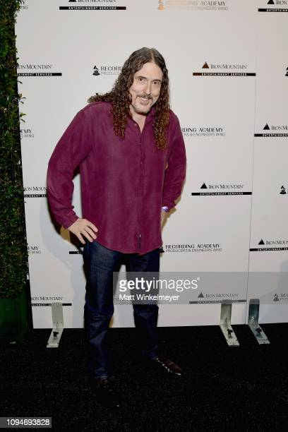 Weird Al Yankovic attends the Producers Engineers Wing 12th annual GRAMMY week event honoring Willie Nelson at Village Studios on February 6 2019 in...
