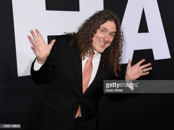 Weird Al Yankovic attends the Universal Pictures' Halloween premiere at TCL Chinese Theatre on October 17 2018 in Hollywood California
