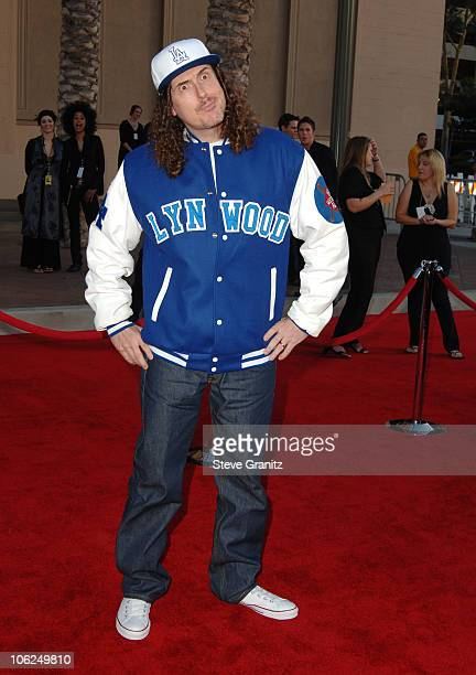 Weird Al Yankovic during 2006 American Music Awards Arrivals at Shrine Auditorium in Los Angeles California United States