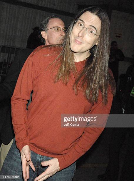 'Weird Al' Yankovic during VH1 Big in '06 Backstage and Audience at Sony Studios in Culver City California United States