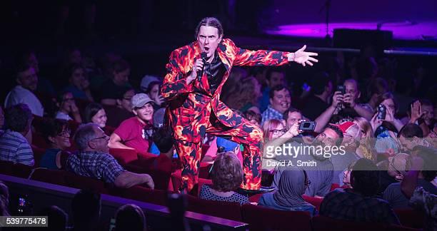 Weird Al Yankovic performs at BirminghamJefferson Civic Center on June 12 2016 in Birmingham Alabama