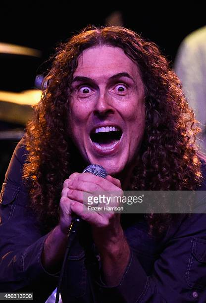 Weird Al Yankovic performs at The Best Fest Presents GEORGE FEST An Evening To Celebrate The Music Of George Harrison at The Fonda Theatre on...
