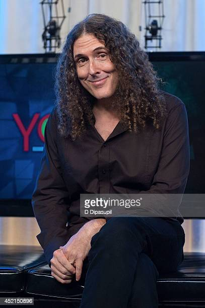 Weird Al Yankovic visits Music Choice's You A on July 14 2014 in New York City