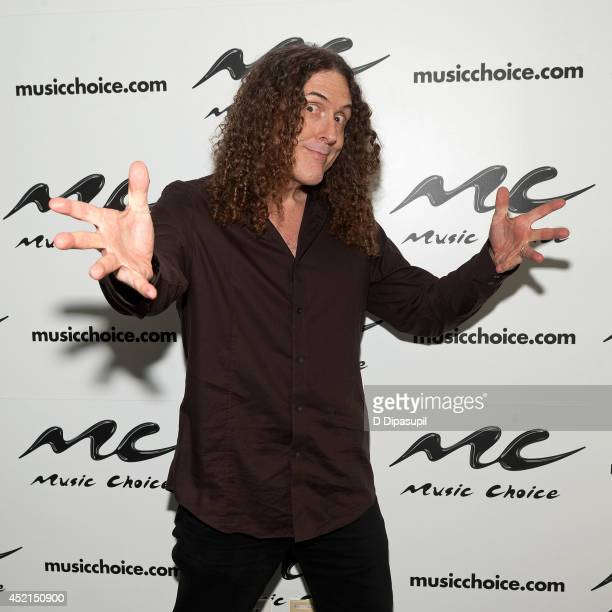 'Weird Al' Yankovic visits Music Choice's 'You A' on July 14 2014 in New York City