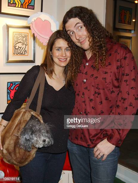 Weird Al Yankovic wife Suzanne Bela during Exhibition by Celebrity Animal Photographer Christopher Ameruoso at HamiltonSelway Fine Arts in West...