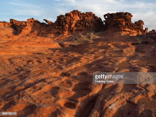 Weird Sandstone Formations at Little Finland, Nevada