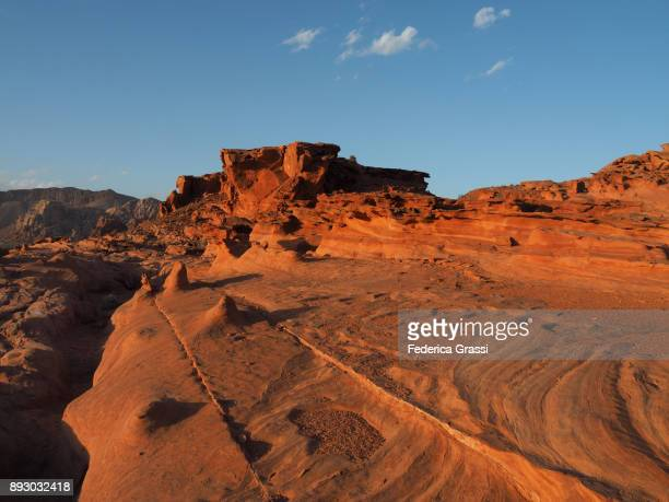 Weirdly Eroded Sandstone, Little Finland, Nevada