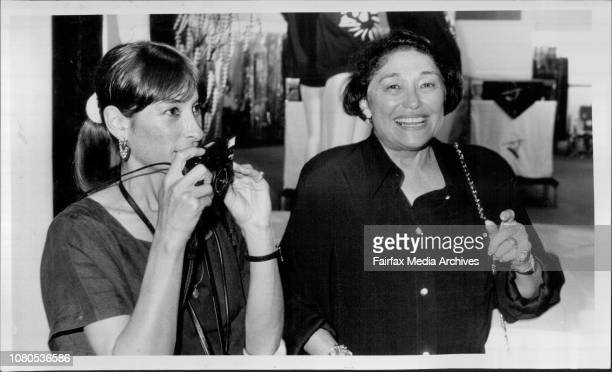 Weiss Art opening at David Jones Bliss and Georgie Swift May 12 1987